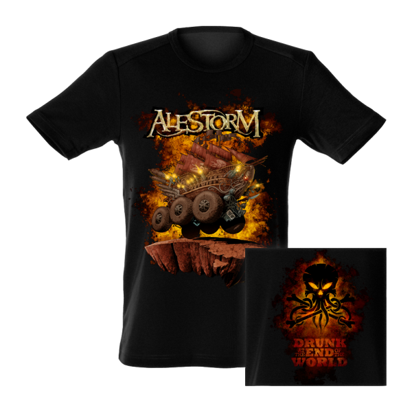Alestorm - Drunk At The End Of The World